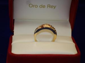 gold ring, old becomes new, custom design jewelry, winnipeg, oro de rey, Gary King
