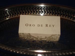oro de rey, concierge, gary king, diamond, name, gold of the king