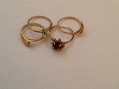 gold,  rings, reconditioned, refashioned, Oro de Rey Jewellery for Gary King
