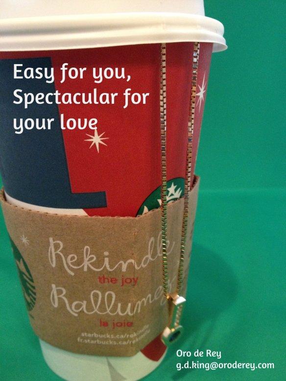 Christmas Jewellery for Gary King Oro de Rey, gold, diamond, saphire