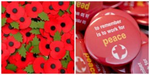 remembrance day, working for peace