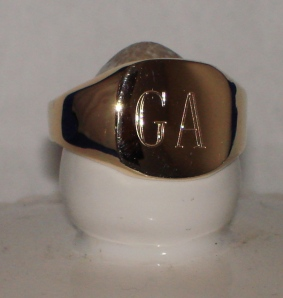 signet ring, old to new