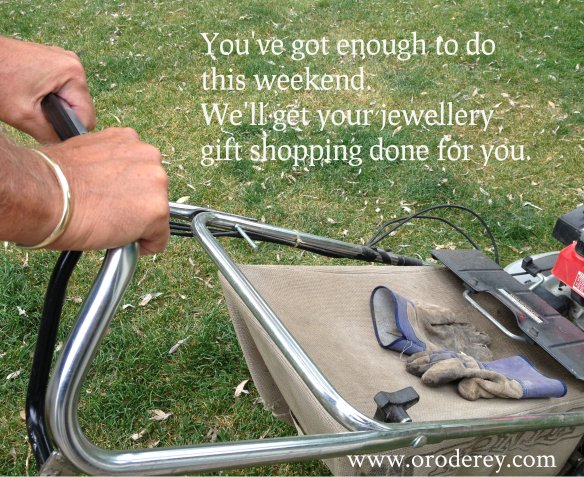 weekend, concierge jewelery service, Winnipeg jeweller, Oro de Rey, Gary King