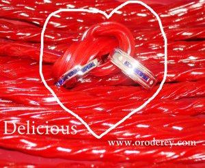 twizzlers, tying the knot, oro de rey, wedding bands, sapphires, winnipeg jeweller