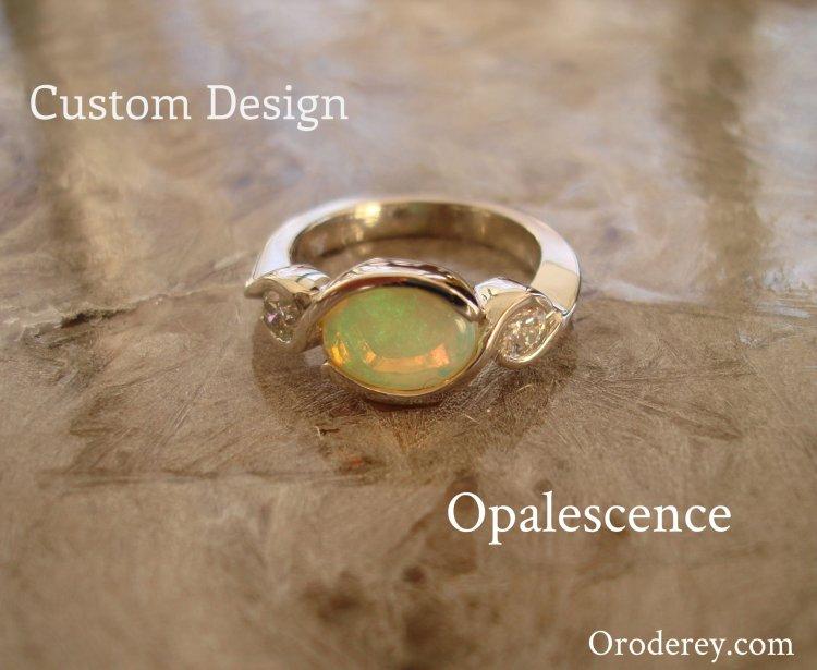 custom design engagement ring, concierge service, oro de rey, gold of the king, winnipeg jeweller