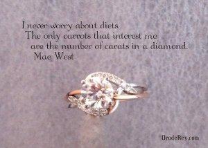 1.2 ct diamond engagement ring, oro de rey, gold of the king, winnipeg jeweller