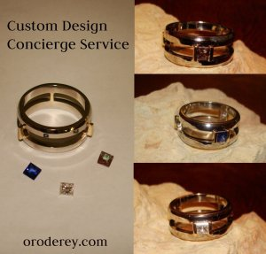 Custom design concierge service