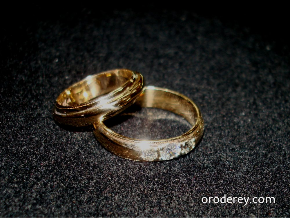 wedding bands recreated by Oro de Rey, Gold of the King, Gary King custom design jewellery, concierge service