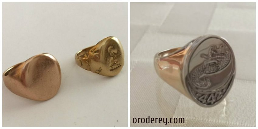 original family rings, recreating signet ring, oroderey.com, making old new, winnipeg concierge jeweller